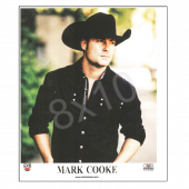 Mark Cooke 8x10- Black Shirt