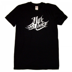 Mark Cooke Black Logo Tee